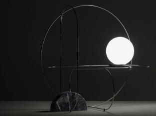 Stojací lampa SETAREH