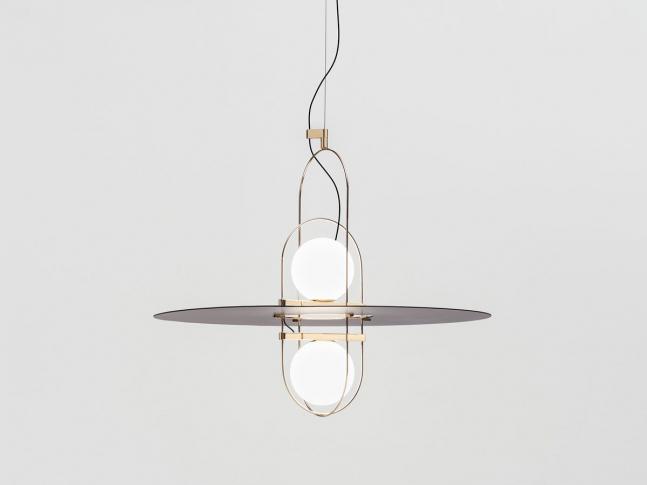 Závěsná lampa Setareh