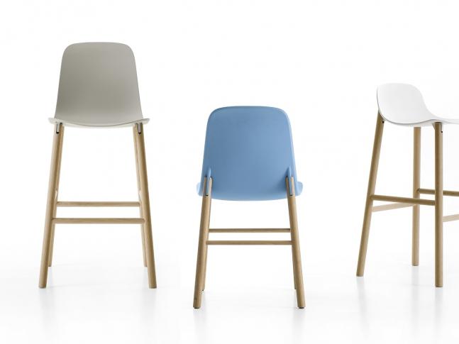 Sharky bar stool