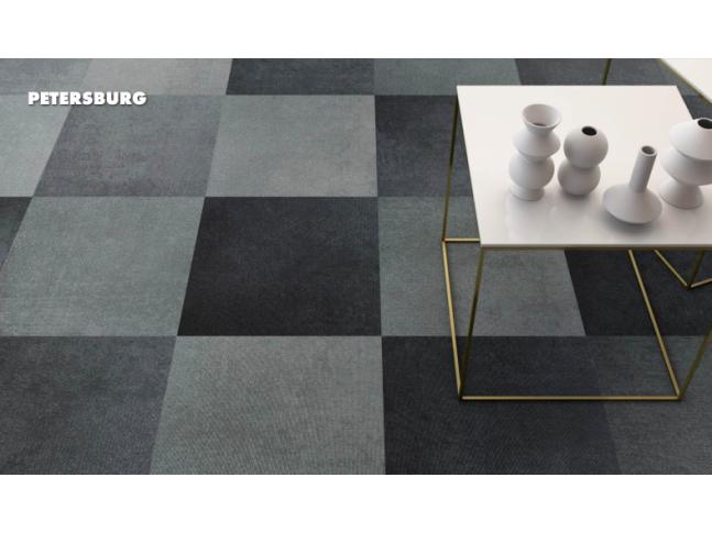 Koberce Freestile - Petersburg Kobercové čtverce s inovativním designem Petersburg od Object Carpet.
