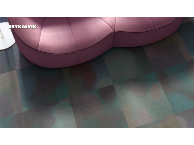 Koberce Freestile - Reykjavik Kobercové čtverce s inovativním designem Reykjavik od Object Carpet.