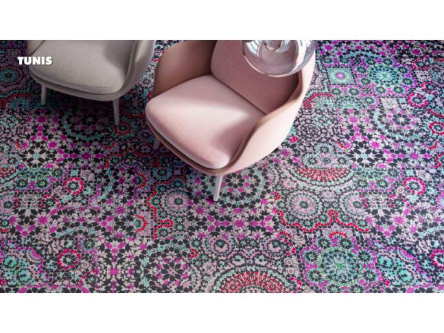 Koberce Freestile - Tunis Kobercové čtverce s inovativním designem Tunis od Object Carpet.