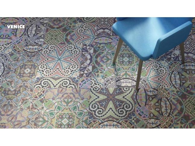 Koberce Freestile - Venice Kobercové čtverce s inovativním designem Venice od Object Carpet.