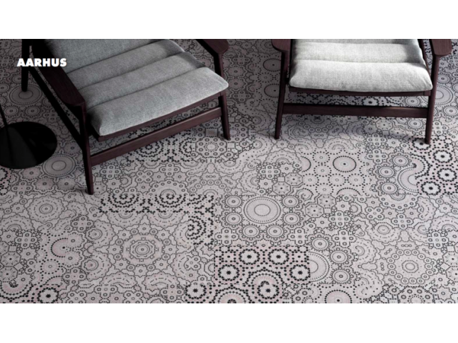 Koberce Freestile - Aarhus Kobercové čtverce s inovativním designem Aarhus od Object Carpet.