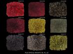 Kusové koberce JoV Plus Základní barevný vzorník koberce Plus od Jov.
