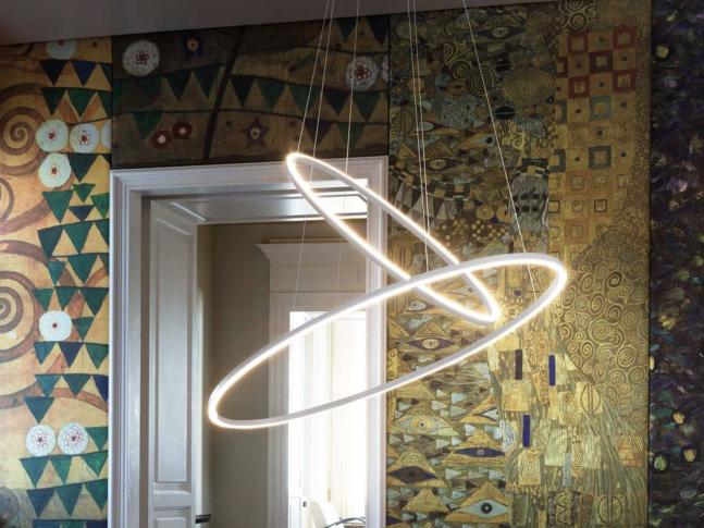 Závěsná lampa Ellisse Pendant Double