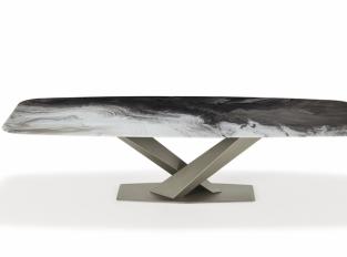 Stůl Stratos Crystalart