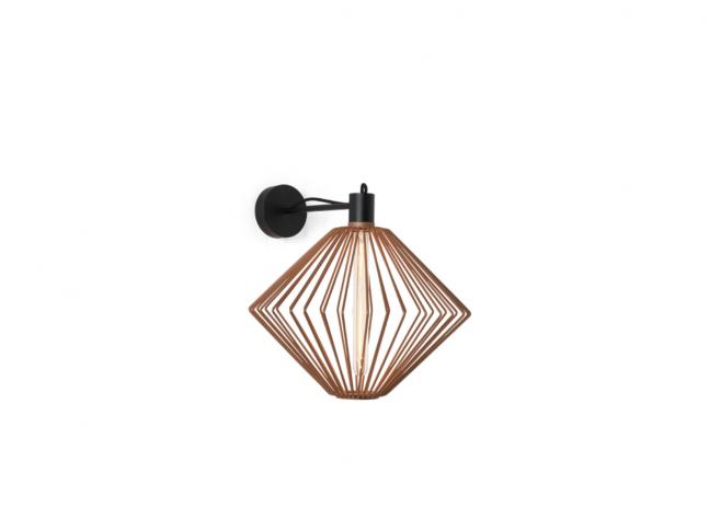 Nástěnná lampa Wiro Diamond