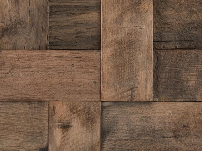Mozaika Wood Square Aged 3D