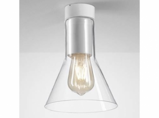 Stropní lampa Modern Glass Flared E27