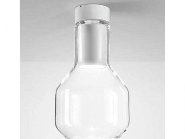 Stropní lampa Modern Glass Barrel LED