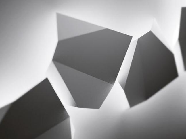 Nástěnná lampa Origami