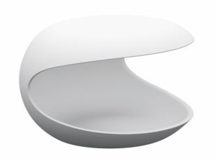 Odkládací stolek White Shell 639