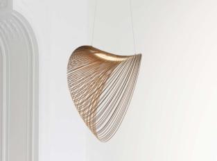 Závěsná lampa Illan
