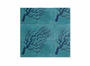 Dlaždice Curly Branch Coral
