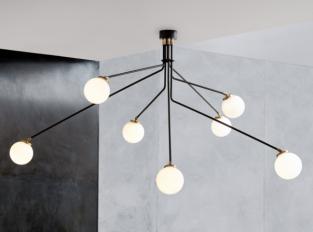 Závěsná lampa Array Opal