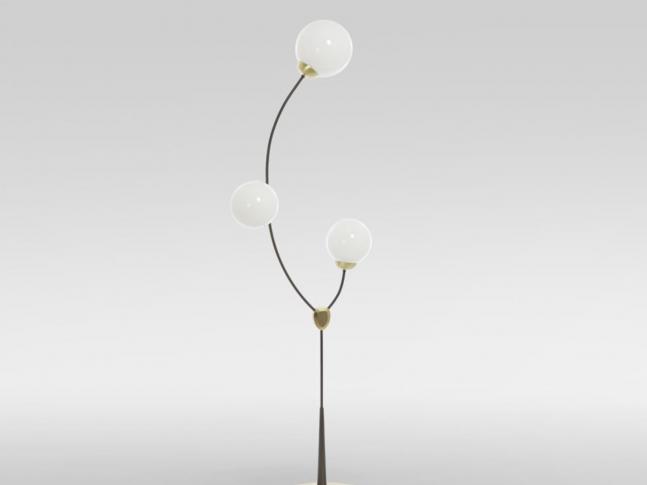 Stojací lampa Ivy