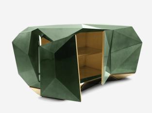 Komoda Diamond Emerald