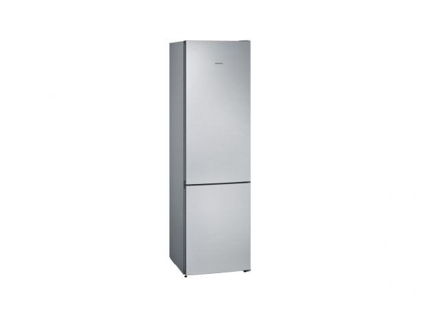 iQ300 Volně stojící chladnička s mrazákem Nerezová