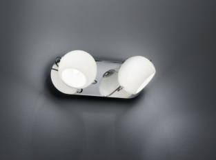 Nástěnná lampa BELUGA WHITE D57