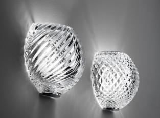 Nástěnná lampa DIAMONDSWIRL D82