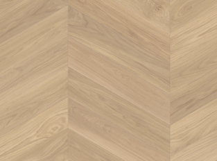 Dřevěná podlaha Oak Adagio White Chevron