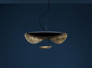 Závěsná lampa Lederam Manta S1
