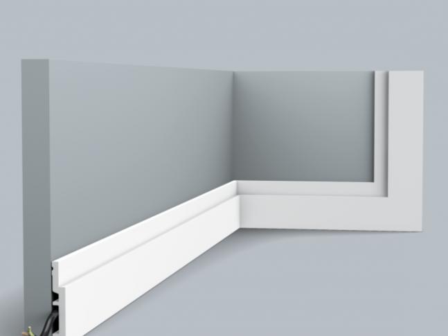 Podlahová lišta SX187 HIGH LINE