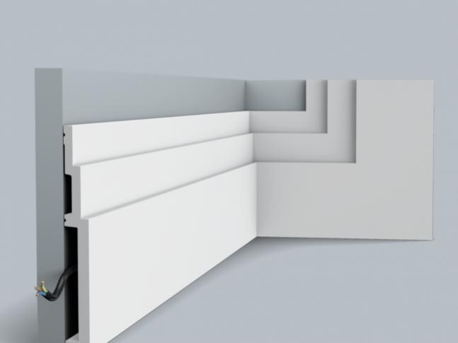 Podlahová lišta SX181 HIGH LINE
