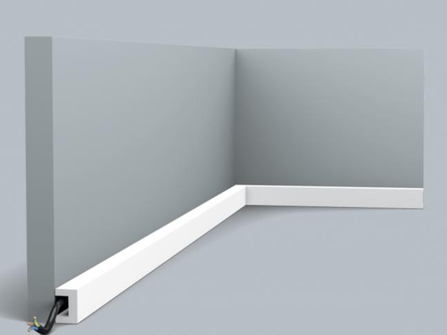 Podlahová lišta CX190 U-PROFILE