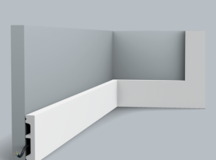 Podlahová lišta SX157 SQUARE