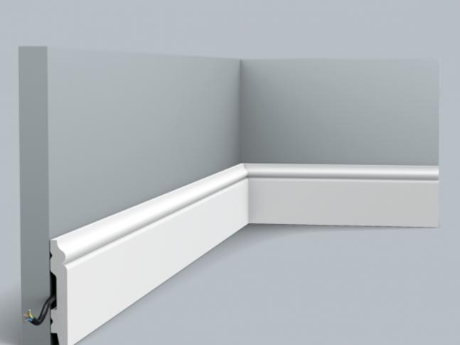 Podlahová lišta SX165 CONTOUR