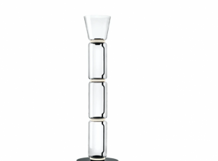 Lampa Noctambule Floor 3 High Cylinders Cone