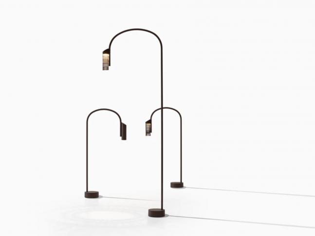 Venkovní stolní lampa Caule