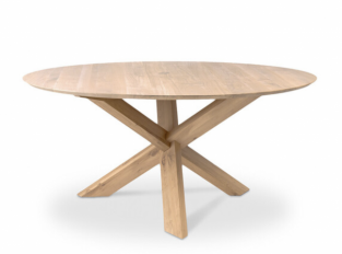 Stůl Oak Circle Dining Table
