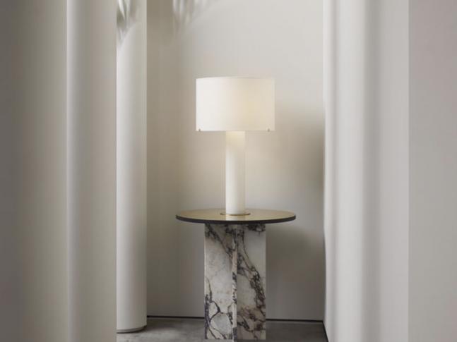 Stolní lampa Imperial Linen