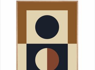 Plakát Circle Shape No.04