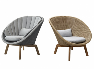 Křeslo Cane-Line Peacock Lounge Chair