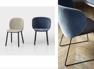 Židle a křeslo Dua
