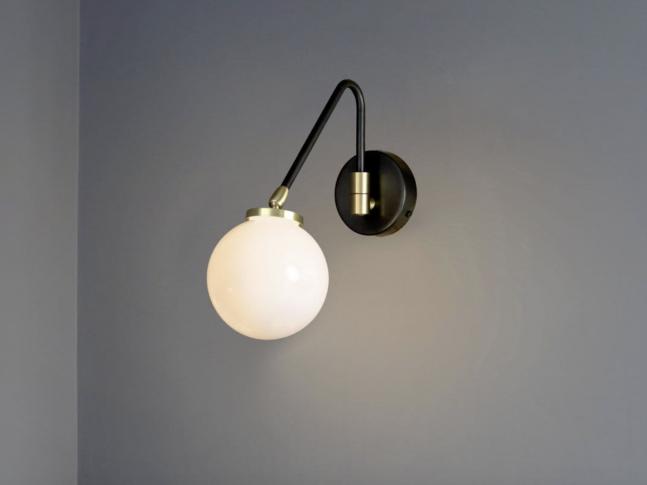 Nástěnná lampa Array Single Opal