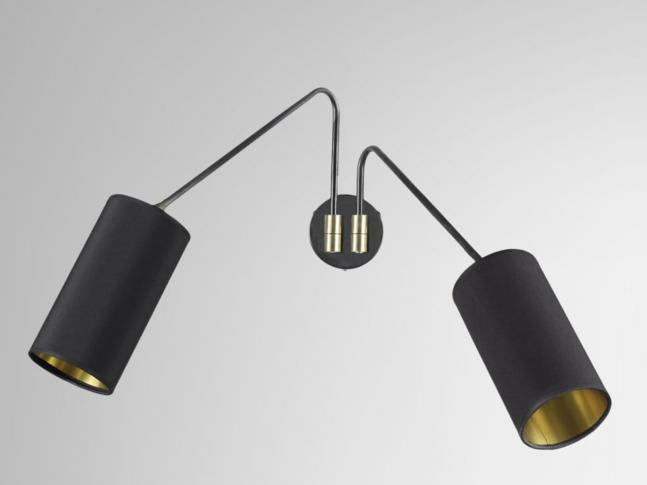 Nástěnná lampa Array Twin Cotton