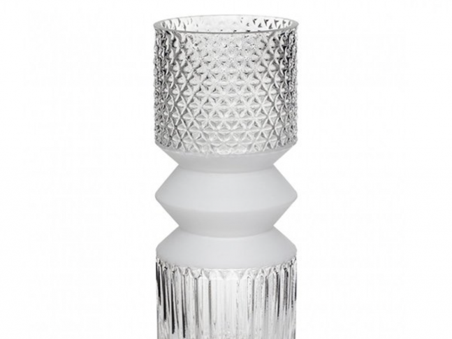 Skleněná váza Hübsch Vase