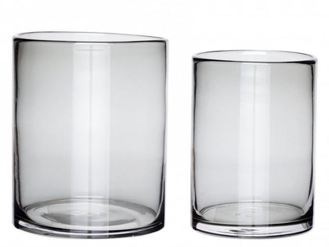 Skleněná váza Hübsch Vase set