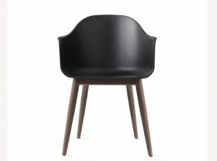 Křeslo Harbour Dining Chair, Wooden Base