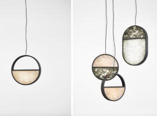 Závěsná lampa Geometrics