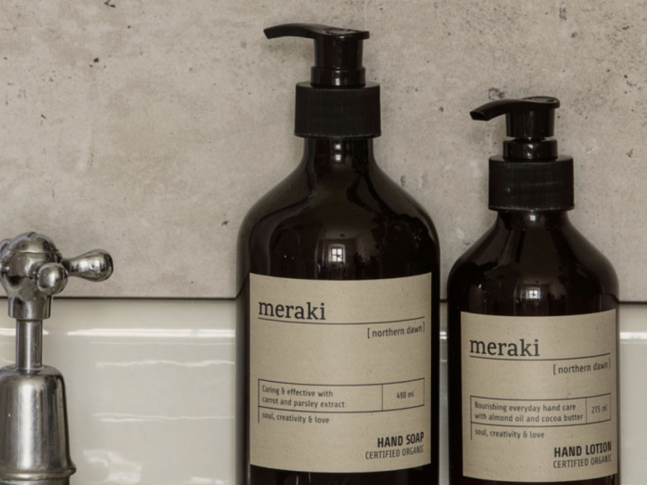Mýdlo Meraki Hand Soap Northern Dawn