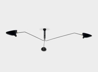 Stropní svítidlo Three Arm Ceiling Lamp