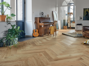 Podlaha FRENCH OAK AUTHENTIC TOPAZE HERRINGBONE 139