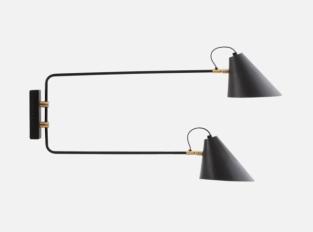 Nástěnná lampa Club Double