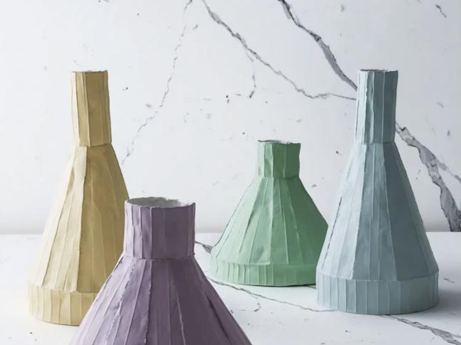 Váza Paper Clay